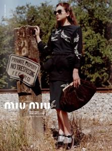 Hailee Stienfeld for MiuMiu