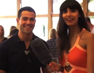 Jesse Metcalfe and Jamella Jamil