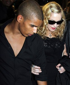 Madonna hitting VIP room with Brahim Zaibat later that day
