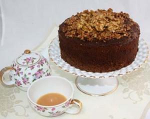 Mapled Walnut Cake