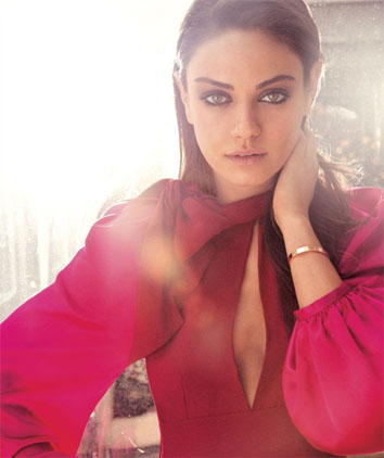 Mila Kunis for Flare magazine