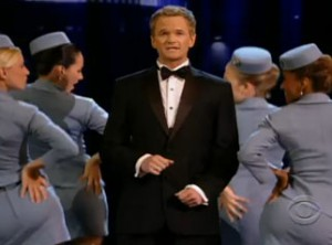Neil Patrick Harris and his opening number