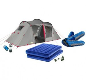 Urban Escape 4 Man Tent Pack