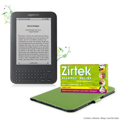 Win a Kindle with Zirtek