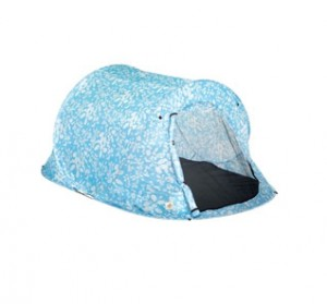 Woodworm Pop Up 2 Man Tent in Blue Flower