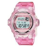 Baby-G Clear Pink Watch