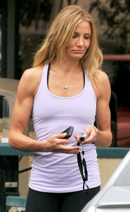 Cameron Diaz is obviously no stranger to the gym