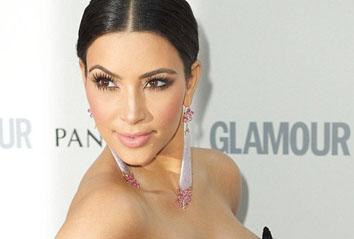 Winner Kim Kardashian in D&G