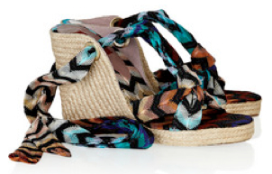 <b>The Ankle-Tie Wedge...</b>