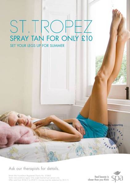 <b>The £10 Spray Tan!...</b>
