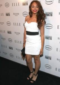 Alexis Jordan at the ELLE Magazine July 2010 Women In Music Issue Celebration