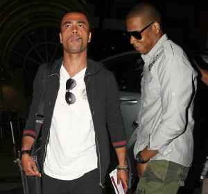 Ashley Cole and Jay-Z