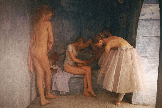 David Hamilton ballerina painting