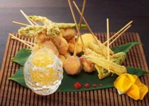 Food at Yashin Sushi Restaurant