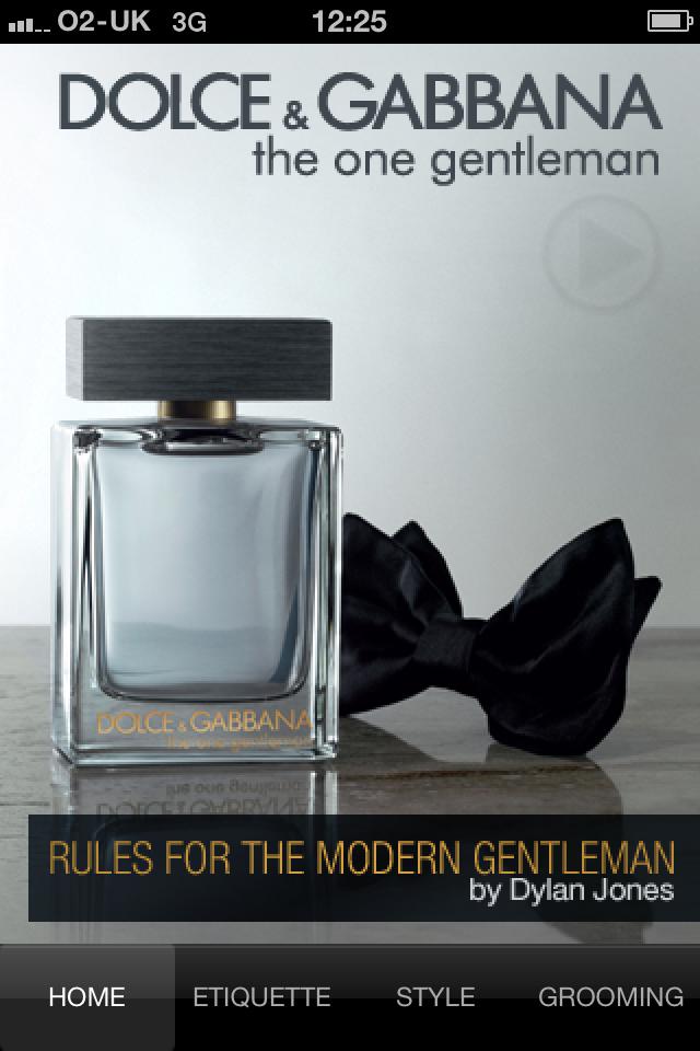 <b>What a Gentleman...</b>