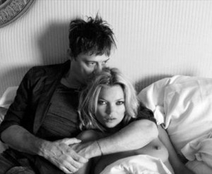 Jamie Hince in bed with Kate Moss