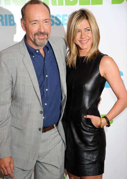 Kevin Spacey and Jennifer Aniston