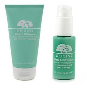 Make A Difference Rejuvenating Cleansing Milk and Skin Rejuvenating Serum