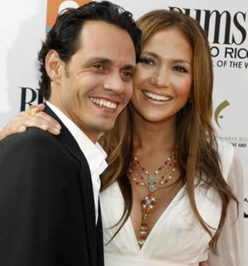 <b>J-Lo and Marc Split...</b>