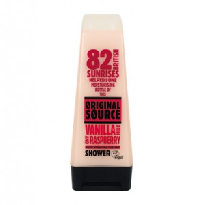Original Source Vanilla Milk and Raspberry shower cream