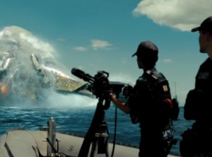 Rhianna and Taylor Kitsch in Battleship
