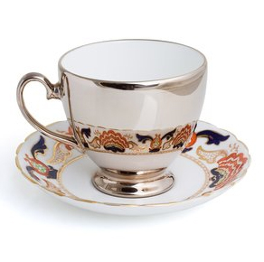 Richard Brendon's Reflective Teacup
