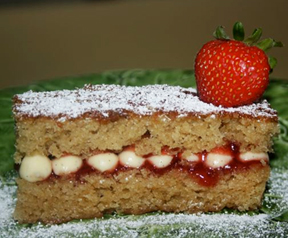 Strawberry Mille-feuille Cake