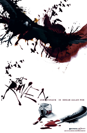 The amazing poster for The Raven