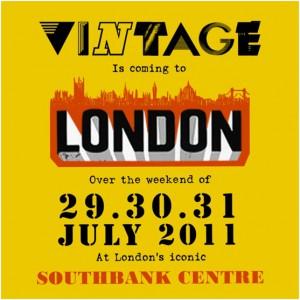 Vintage at London's Southbank