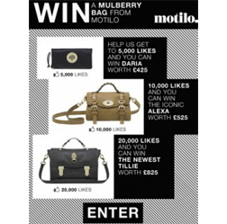 <b>Win Mulberry With Mo...</b>