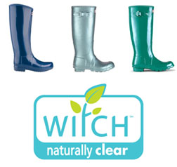 Win Witch products and a pair of Hunter wellies!