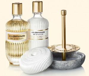 eaudemoiselle de Givenchy bath range