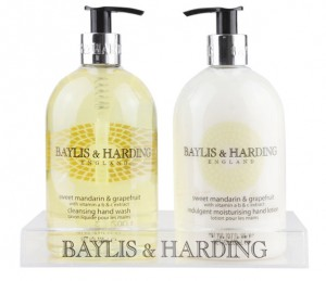 Baylis & Harding Sweet Mandarin & Grapefruit Handwash and Moisturiser