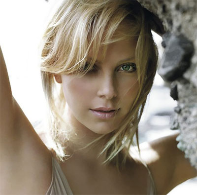 Charlize Theron  she always stays within the blonde cycle.