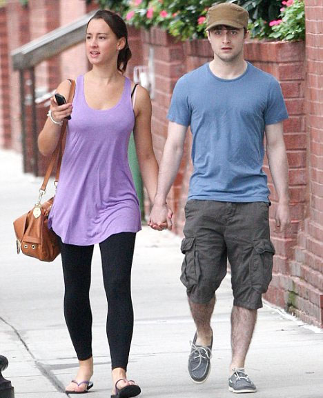Daniel Radcliffe and his girlfriend, Rosanne Coker