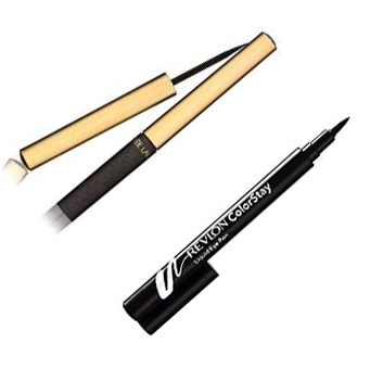 Estee Lauder Pure Color Eye Liner and Revlon ColorStay Liquid Eyeliner
