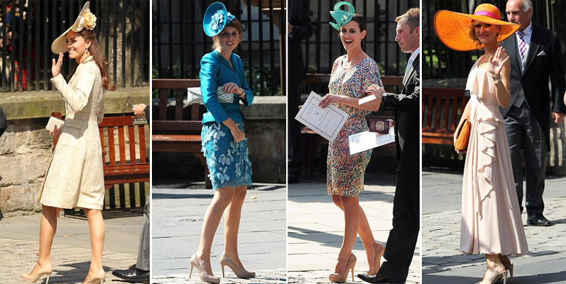 Kate Middleton, Princess Beatrice, Kirsty Gallagher and Katherine Kelly