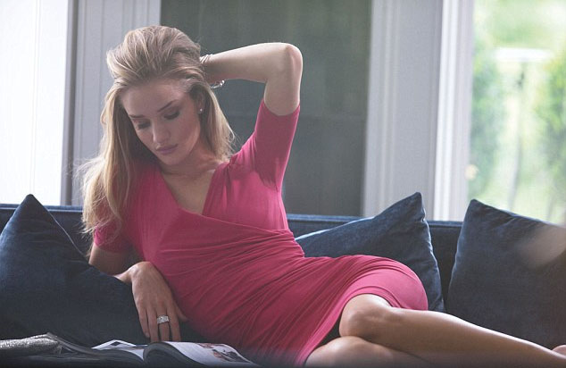 Rosie Huntingdon-Whiteley for M&S