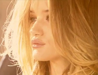 Rosie Huntingdon-Whiteley in the Burberry Body campaign
