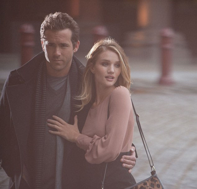 Ryan Reynolds and Rosie Huntingdon Whiteley in the new M&S campaign