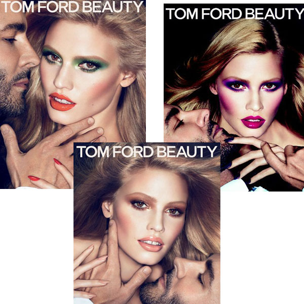 Tom Ford Beauty Campaign with Lara Stone