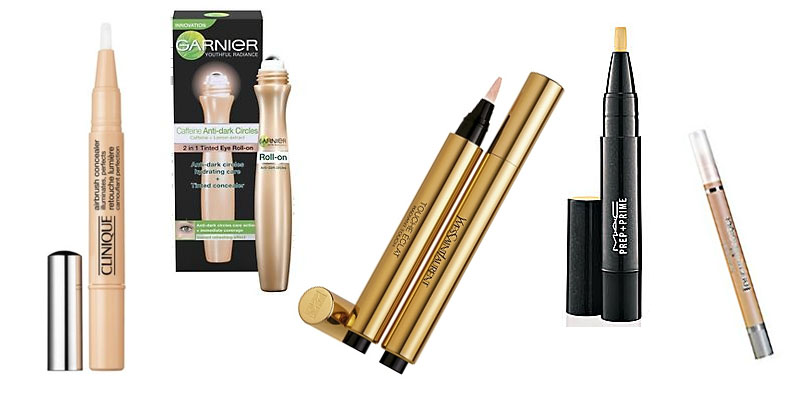 Tuesday's Top Under Eye Concealers - Clinique, Garnier, YSL, MAC and L'Oreal