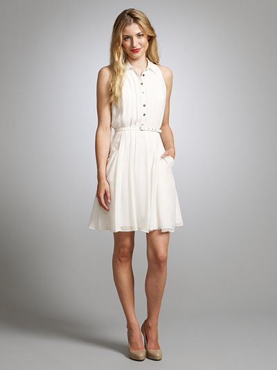<b>A Little White Dress...</b>