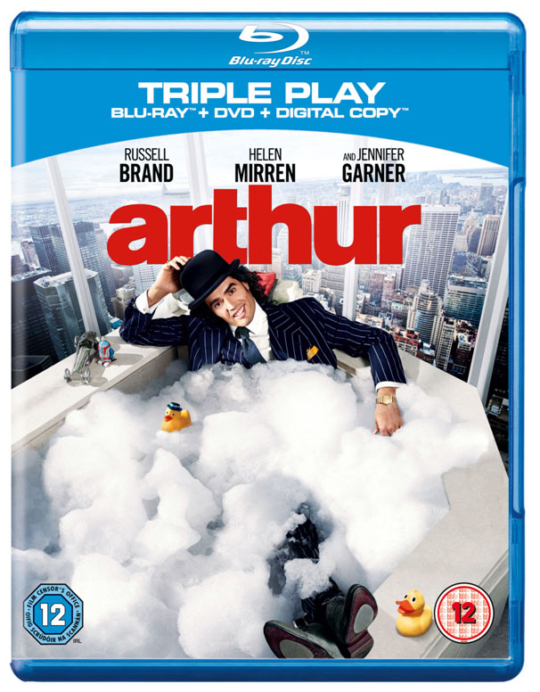 Arthur on DVD and Blu-Ray