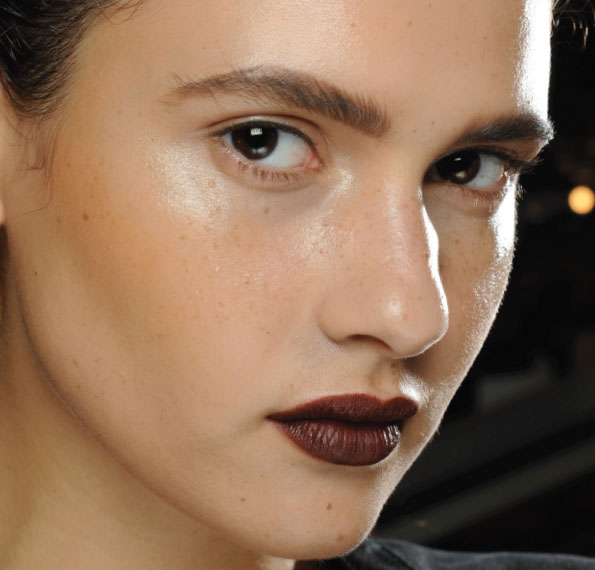 Donna Karan beauty for SS12 - makeup by Charlotte Tilbury