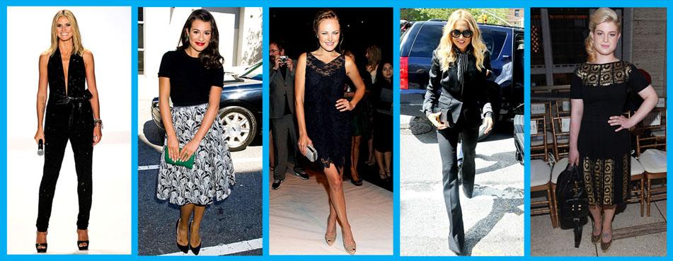 Heidi Klum, Lea Michele, Malin Akerman, Rachel Zoe and Kelly Osborne