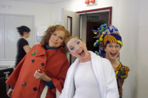 Jennifer Saunders, Jane Horrocks and Julia Sawalha