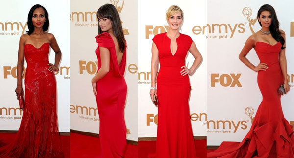 <b>Ladies in Red...</b>