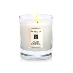 Lime, Basil and Mandarin Home Candle