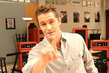 Matthew Morrison laying down the law
